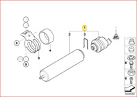 New Genuine BMW X1 X3 X4 Series Fuel Filter Engine Service Replacement OEM