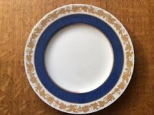"""Wedgwood Cobalt Whitehall bone china 8"""" salad plate green mark W3993"""