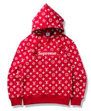 Supreme Hoodie Sweatshirt Sweater Long Sleeve Hooded Jumper Leisure Jacket Coat