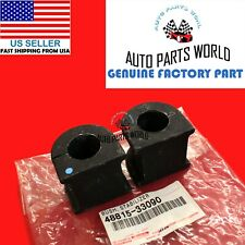 GENUINE OEM TOYOTA CAMRY SOLARA FRONT SUSPENSION SWAY BAR BUSHING SET OF 2