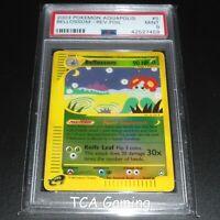 PSA 9 MINT Bellossom 5/147 Aquapolis Set REVERSE HOLO Pokemon Card