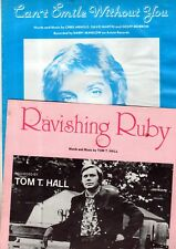 $5 SHEET MUSIC BARGAIN CLEARANCE!2-Bundle: BARRY MANILOW / TOM T HALL Hits