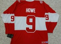 GORDIE HOWE DETROIT RED WINGS 2014 WINTER CLASSIC ALUMNI CCM JERSEY