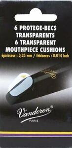 Vandoren VMC6 6 Thin Clear Mouthpiece Cushions