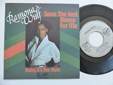 RAMONA WULF save the last dance for me 911062   FRANCE Discotheque RTL