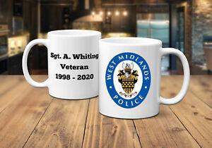 West Midlands Police Personalised Coffee/Tea Mug