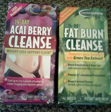 Applied Nutrition 14-day Acai Berry Cleanse & Fat Burn Cleanse Green Tea Extract