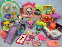Littlest Pet Shop 30 Random Pcs Figures Playset Accessories Lot 1 Best Deal Lps