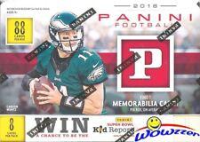 2018 Panini Football EXCLUSIVE HUGE Factory Sealed Blaster Box with MEMORABILIA