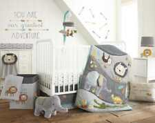 Levtex Baby Zambezi 5 PC Crib Bedding Set + Bumper + Musical Mobile + Pillow NEW