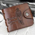 Men's Bifold Leather Wallet ID Credit Slim Card Holder Front Pocket Clutch US