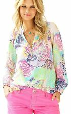 Lilly Pulitzer Womens ELSA TOP~*Roar of the Seas*~XXS  NWT