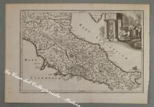 ITALIA - DALMAZIA. 1731. ITALIA MEDIA SIVE PROPRIA. Acquaforte, da A. Cellarius.