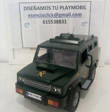 Playmobil todoterreno Guardia Civil UEI, GAR, GRS, USECIC, USECIA