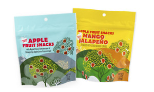 VEGAN! 3 Pack Trader Joe's Honeycrisp Apple Fruit Snacks & Mango Jalapeno 5.3oz