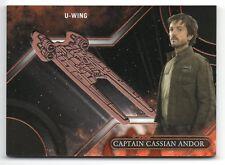 Star Wars Galactic Files Reborn BRONZE MEDALLION Card VM-CE / CASSIAN ANDOR