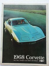 *68 Corvette Dealer Brochure* NOS GM*
