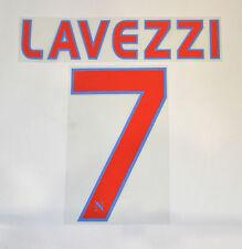 SSC NAPOLI Nome e Numero UFFICIALE LAVEZZI 7 stagione 09/10 Away (maglia grigia)