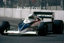 Riccardo Patrese Brabham BT52 USA West Grand Prix 1983 Photograph 2