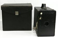 Kodak No. 2A Brownie Box Camera with Carrying Case