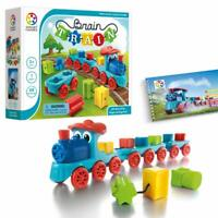 SmartGames Brain Train Board Game: A Puzzle Game & Brain Game + Toy Train for...