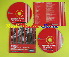 CD BRITISH MUSIC AT MIDEM compilation 2003 BROVAZ DEVIANCE LADYTRON(C2)no lp mc
