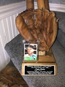Mickey Mantle New York Yankees Vintage Baseball Glove