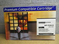 LOT OF 2 Q7553X 53X HIGH YIELD Compatible for HP Laserjet P2015 P2015D M2727MFP