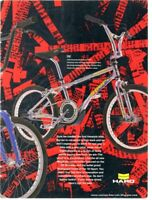 Haro Sport Bashguard Vintage Bmx Freestyle Bike Old School Master Peregrine Team