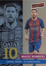 Panini Aficionado 2016 Soccer LIONEL MESSI FC BARCELONA MAGIC NUMBERS
