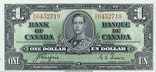 Canada P-58 1 dollar 1937 AU