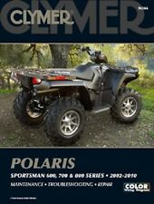 CLYMER MANUAL POLARIS SPORTSMAN 700 EFI X2 2008, MV7 2005-06 & 800 EFI 2005-2010