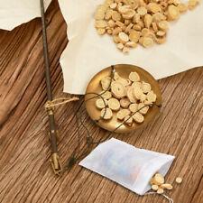 100 Pack Cotton Muslin Drawstring Bags Soap Herbs Tea Reusable Packing Bath