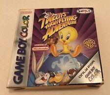 Tweety's High Flying Adventure Nintendo Gameboy Color Complete PAL