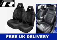 VW GOLF MK7 R-LINE Sport Car Seat Covers Protectors x2 - VOLKSWAGEN GOLF R MK7