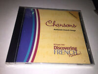 New Sealed Chansons Authentic French Songs Cd