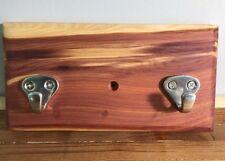 "Key Holder Handmade, Red Cedar 7"" X 3"" 3/4"