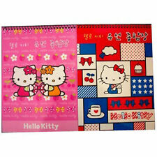 "2 Notebooks 7.25""x10"" Spiral Bound Note Pads Sanrio Hello Kitty New"