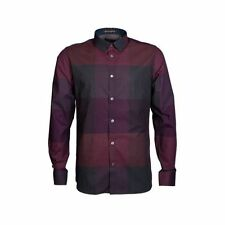 Ted Baker Collared Check Long Sleeve Men's Casual Shirts & Tops