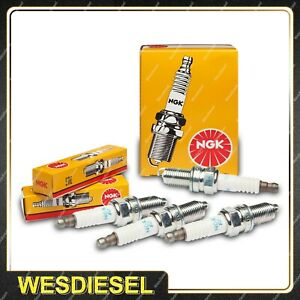 4 NGK Spark Plugs for Citroen CX25 2200 2400 D Special DS21 DS23 ID19 4Cyl