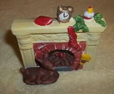 """Christmas Tea Light Candle Holde Front of Fire Place 3-1/2"""" Tall x 3 1/2"""" Wide"""