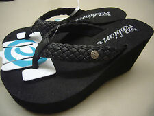 COBIAN WOMENS SANDALS ZOE BLACK SIZE 9