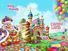 ***GREAT CANDY LAND***FABRIC/T-SHIRT IRON ON TRANSFER