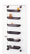 Over The Door 6 Basket Unit by Organize It All