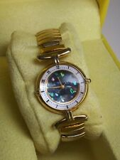 D & l Fashion Watch. Womens Gold And Stone Colors. Wrist watch.