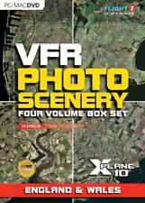 VFR Photo Scenery for X-Plane 10  - England & Wales (PC/Mac DVD), Good Mac OS X,