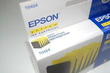 Genuine Epson T0424 Yellow Ink Cartridges Sealed for Stylus C82/CX5200/CX5400