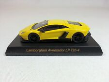 1:64 OEM Lamborghini Aventador LP720-4 50th Anniversario Yellow Dealer Event Ed.