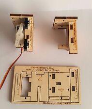 0 / 00 / 009 / N Gauge Servo Bracket Point turnout Control Laser Cut Kit Peco