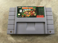 Donkey Kong Country Super Nintendo SNES AUTHENTIC Game Cartridge! TESTED Cart